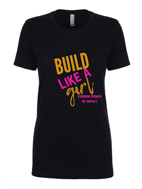 Build Like A Girl Tee