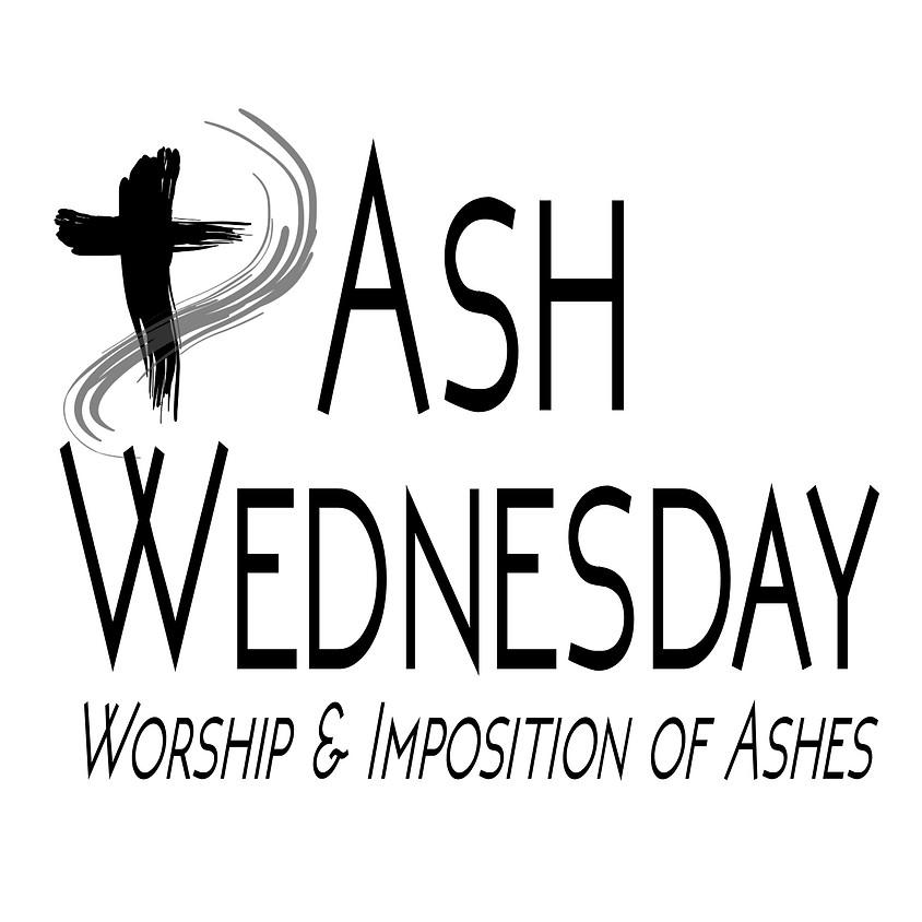 Ash Wednesday Worship: Lunchtime