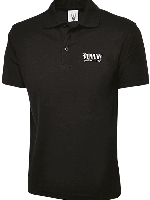 Black Pennine Brewing Co Polo-Shirt