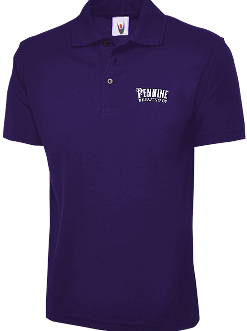 Purple Pennine Brewing Co Polo-Shirt