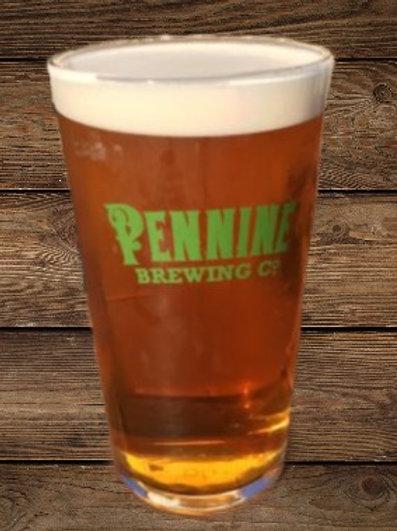 Pennine Brewing Co Pint Glass