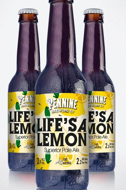 LIFE'S A LEMON  (Case of 12 x 500ml)