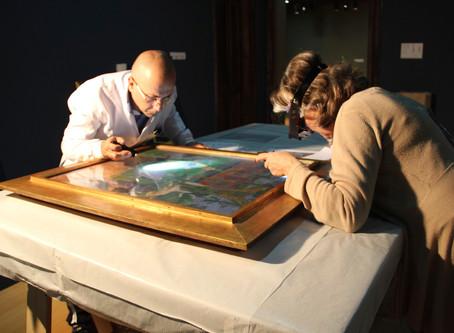 Métodos de exame e análise das obras de arte