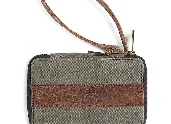 Mona B Ryker Wallet - Charcoal