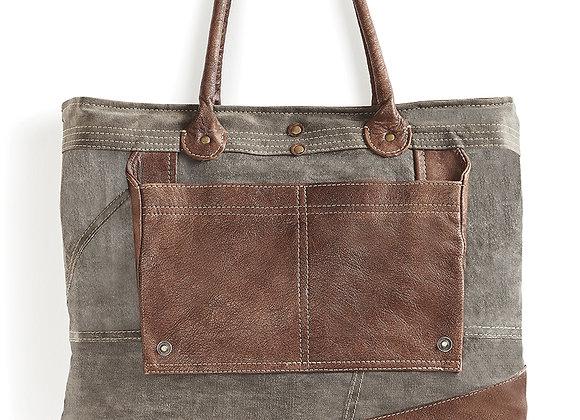 Mona B Dakota Shoulder Bag - Charcoal