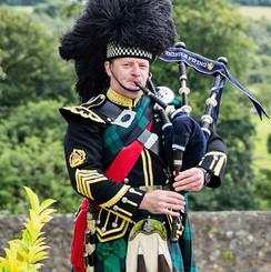 Wedding Piper Scotland