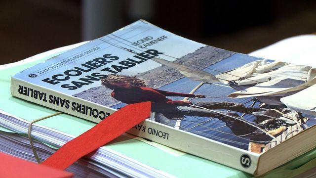 """Un livre écrit par Léonide Kameneff, fondateur de """"L'Ecole en bateau"""" pendant son procès"""