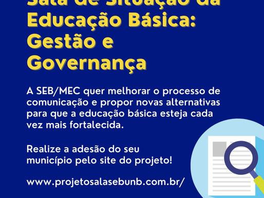 Projeto Sala de Gestão e Governança visa construir relação de comunicação entre a SEB e municípios