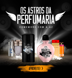 Os astros da perfumaria