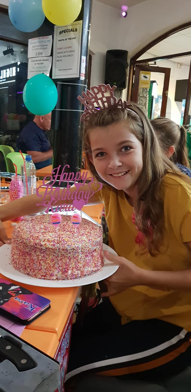 Karas 11th birthday oct 2018