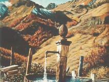 Point d'eau en montagne