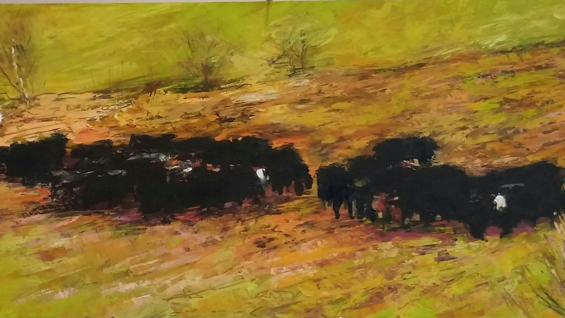 Le troupeau à Langis
