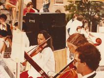 Musique et parasol