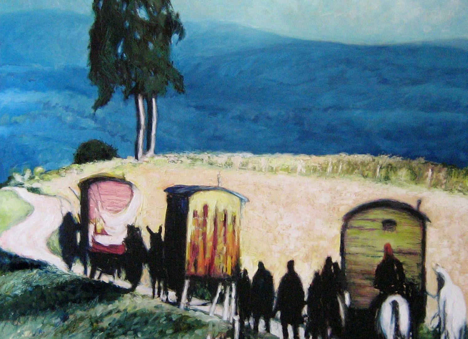 L'arrivée des Roms
