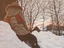 L'enfant l'hiver et la ville