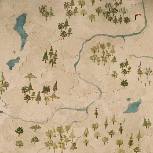 """He didn't trust maps"""