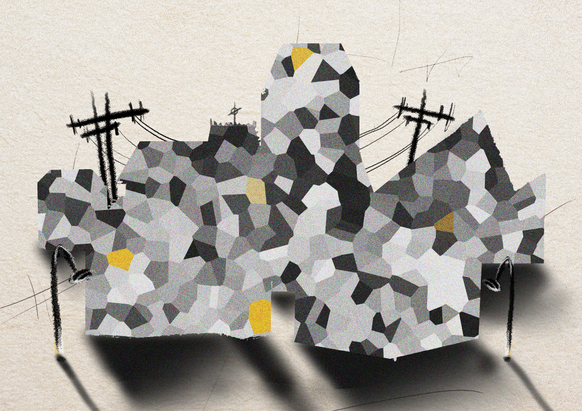 """""""Fragmented City"""""""