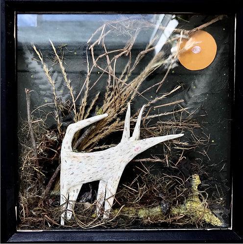 """Walk in the Moonlight"" Shadow Box"