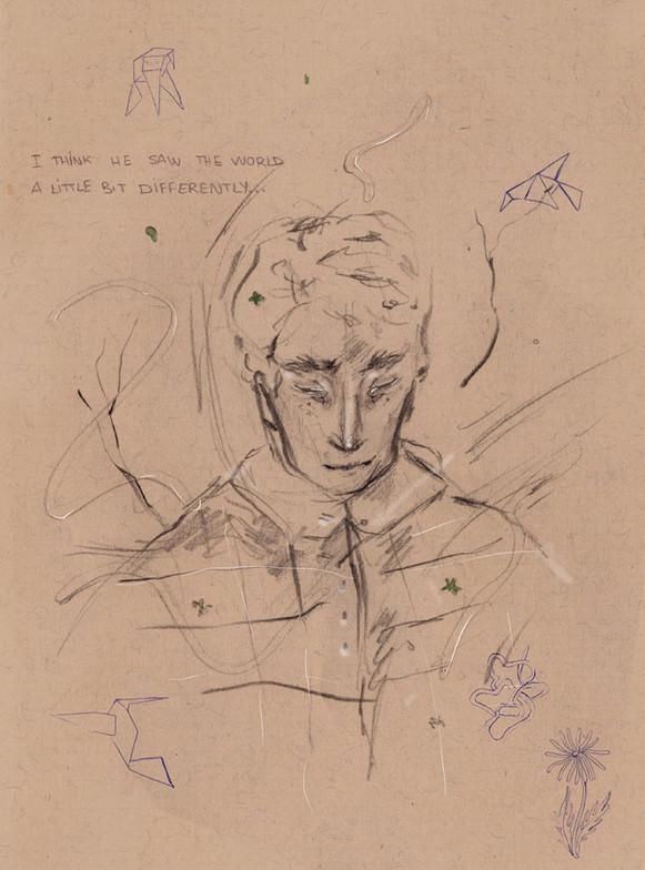 """""""Malcolm Portrait"""""""