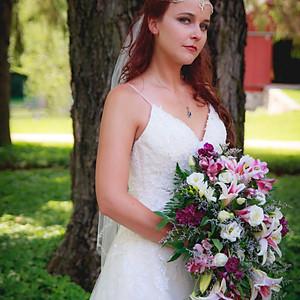 Samantha Wedding portraits