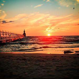 St. Joe sunset