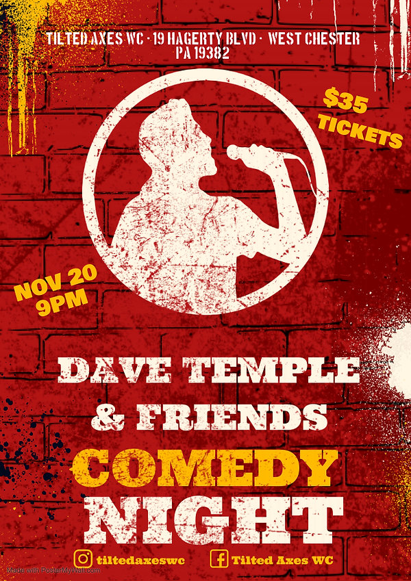 Copy of COMEDY NIGHT POSTER - Made with