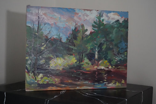 Bigelow Hollow painting by Charlie Gaulin