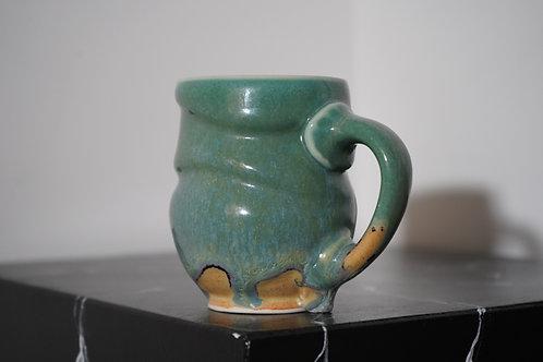 Mug handmade by Sawmill Pottery