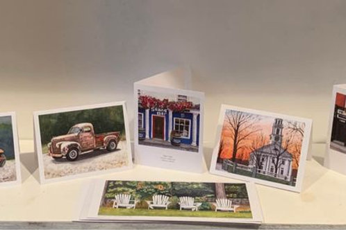 Assorted Card Prints from Marry Hollingsworth & MT Cook