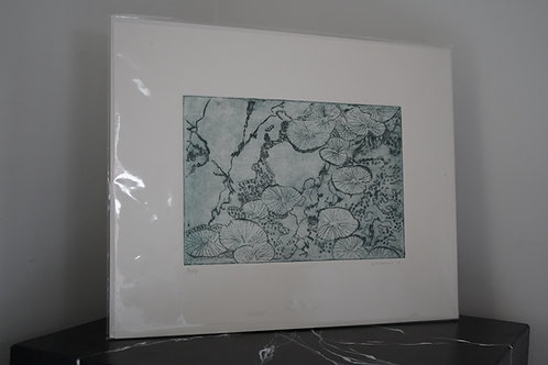 Etching by Kathy Murray