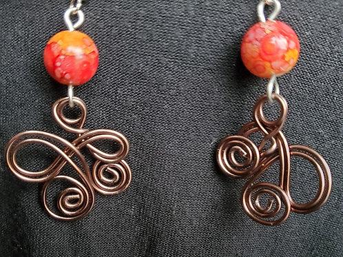Earring Pair handmade by Simone Germain