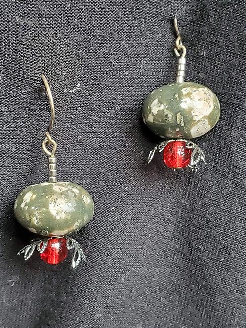 Earring Pair handmade by Anja Bull Stainless Steel