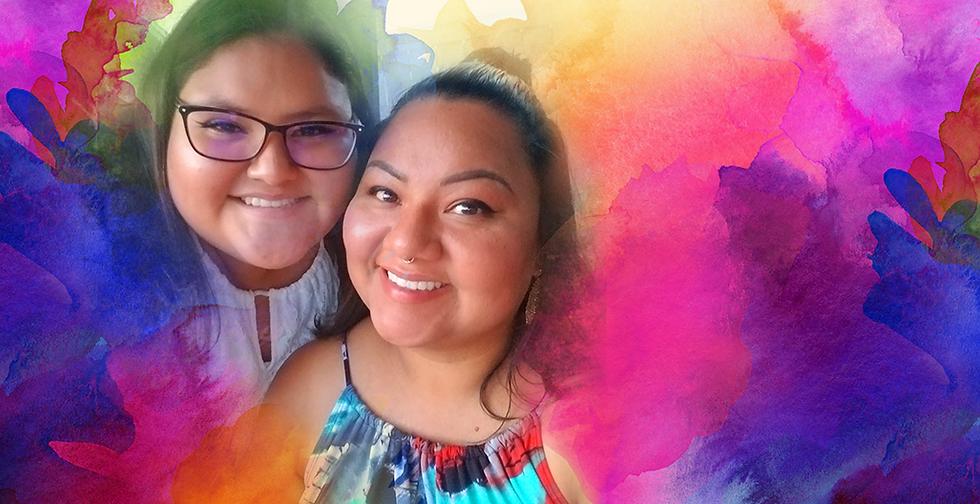 Banner Rita Elizondo - moms of LGBTQ+ Love is love