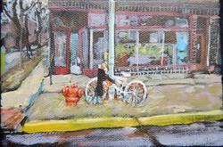 Kathryn Gauthier_ghost bike
