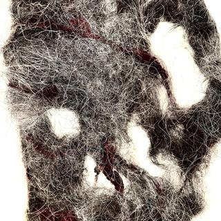 pierced felted dog hair and silk.jpg