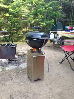 AT the camping Nouveau-Brunswick
