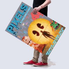 Refonte d'affiche de cinéma : Pixels