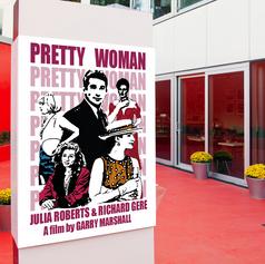 Refonte d'affiche de cinéma : Pretty Woman