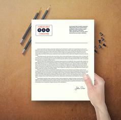 Création du logotype de la société FORMACCREST CONSULTING