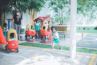 A playground located in one of the best preschools in Sri Lanka.