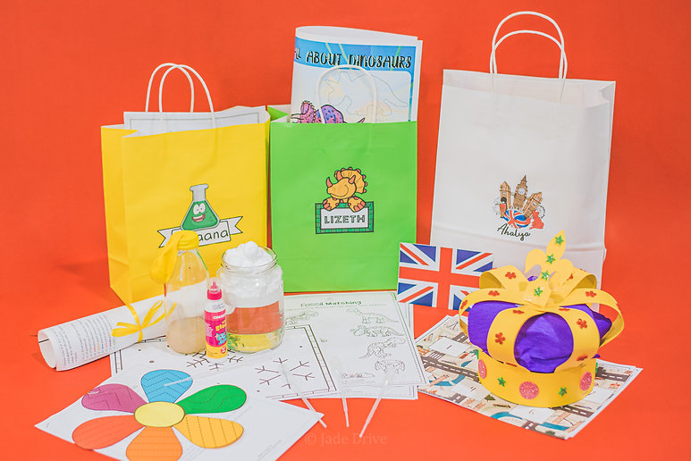 Worksheets, materials and learning packs for our online preschool classes.