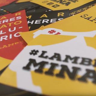 teaser do projeto LambeMina