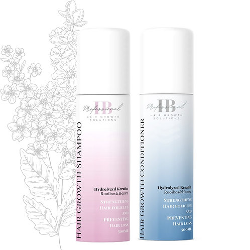 Hair Growth Shampoo and Conditioner bundle