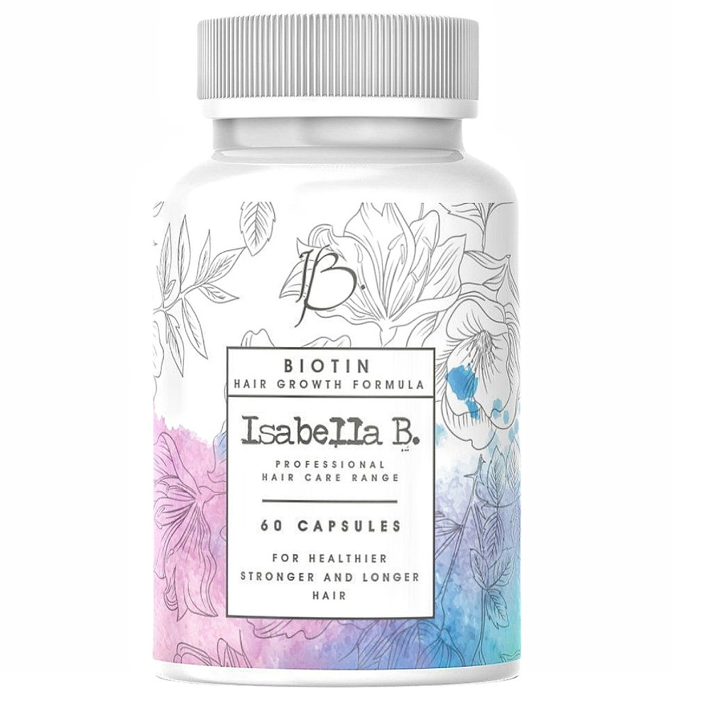 Biotin Hair Vitamins formulated to stimulate dead ans slow growing hair follicles