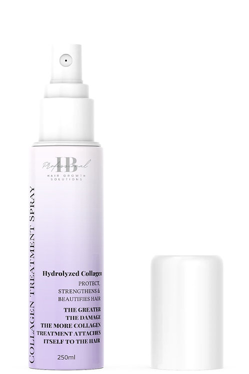 Collagen treatment spray