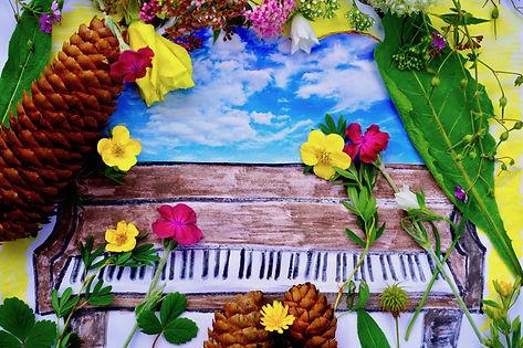 Cover image for Seamus Kearney's album, Journeys Inside My Piano