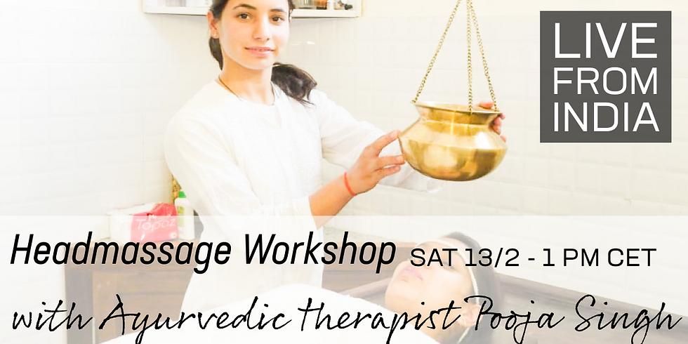 Workshop headmassage