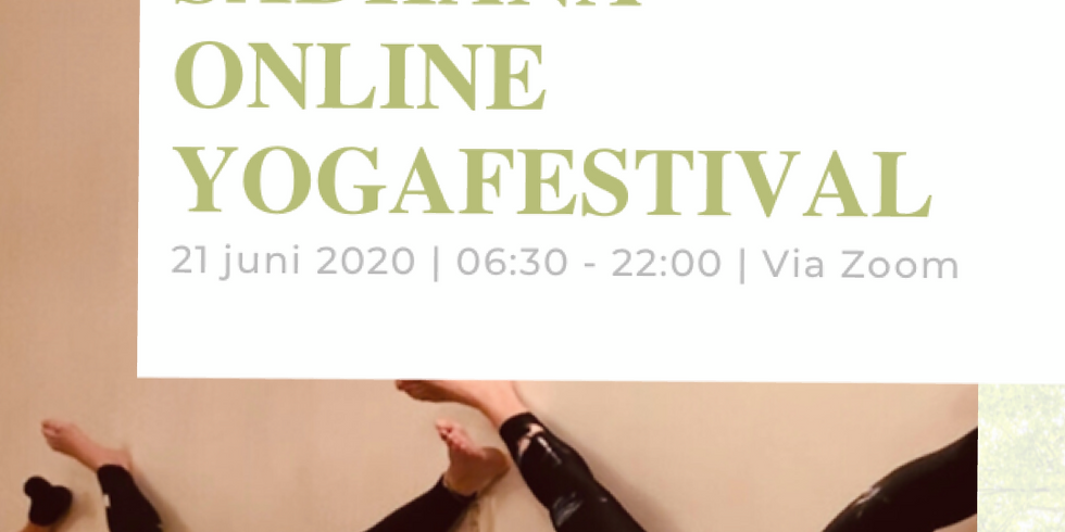 Sadhana Online Yoga Festival