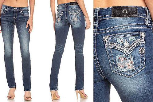 WOMEN'S STRAIGHT LEG MISS ME JEANS M3535T