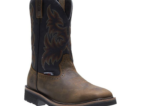 WOLVERINE MEN'S RANCHER WATERPROOF STEEL-TOE WELLINGTON W10765
